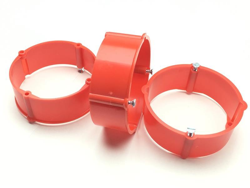 50 Stück Putzausgleichsringe Höhe 12mm für Dosen Ø 60mm Schalterdosen Putzring
